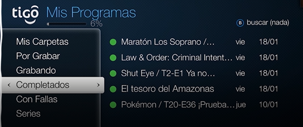 plan tigo one tv full