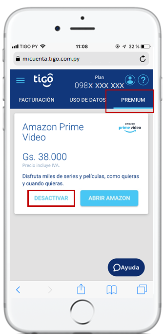 cancelar beneficio amazon prime video