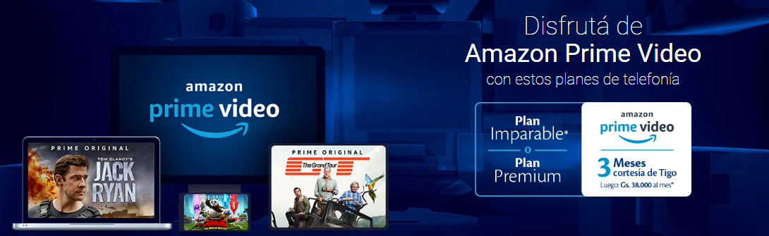 amazon prime video tigo